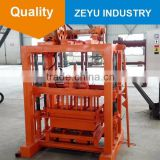 Small scale industries QT4-40 manual paving stone making machine tiger at6 cement block machine