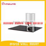 aluminum alloy dvd wall shelf lcd bracket tv mount set top box stand