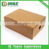 Accept Custom Order and Recycled Materials Feature brown color corrugated shoes paper box