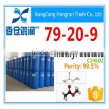 High quality Methyl acetate CAS 79-20-9 factory price