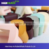 Ningbo Horizon Customize table edge protector corner guard safety rubber glass edge protector