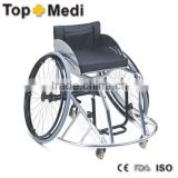 Rehabilitation Therapy Supplies Guangzhou Topmedi Aluminum Basketball Wheelchair For Sports