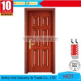 Excellent Quality Interior Doors Low Price Wooden Single Door Main Teak Wood Door Carving Design Models