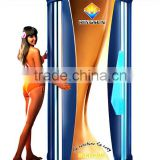 Sunshine Professional Stand-up Solarium Equipment for Fitness/ Gym/ Tanning Studio, Excellent Solarium with 52 Solarium Lamps