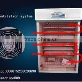 High Quality full automatic chicken/goose egg incubator and hatcher
