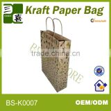 2014 hotselling and eco-friendly paper bag for garment/gift packaging bag /cosmetic bag with twisted handle