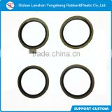 round rubber with metal washer