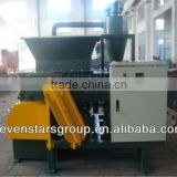 PE PP waste plastic lump crusher