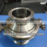 "food grade stainless steel 1"" sanitary tri clamp check valve/non return check valve"