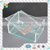 Top quality perspex popular design acrylic tiny box with lid/simple design acrylic small box for candy storage i China low price