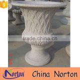 marble statue chicken flower pot for sale NTMF- FP211X