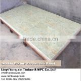 Interior wall panels golden marble, Marble designed Floating Click PVC Vinyl Flooring Panel