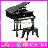 2017 New wooden toy piano, popular wooden piano toy and hot sale children wooden toy piano with factory price W07C014