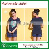 iron on heat transfer sticker