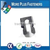 Made in Taiwan High Quality Individual Clips Stainless Steel Clip Tool Clips