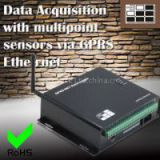 Data Acquisition with multipoint sensors via GPRS Ethernet