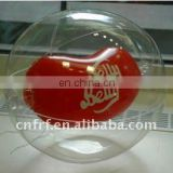 inflatable advertising transparent ball with 3D insert inside