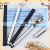 Top quality customized pull out banner pen/promotion stylus pen/plastic ballpoint pen wholesale