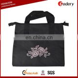 2016 Factory Custom Black Tote Bags No Minimum