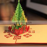 3D Handmade greeting card Christmas castle card Creative hot holiday greeting cards