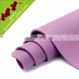 Folding blank eco yoga mat wholesale with vent bag