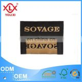 Customize brand logo woven labels for garment