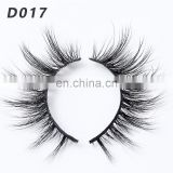 D017 eyelash extension mink 3d mink eyelashes private label