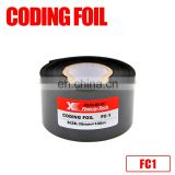 Fineray FC3 food packaging date printing hot coding stamping foil