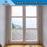 H4206 Opaque Frosted Static Window Film Cling Self adhesive Privacy Glass Stickers