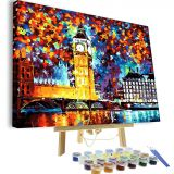 Paint by Numbers Kit DIY Oil Painting for Adults Kids 16x20 Inch