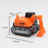 Small Plastic Truck Model Toy /4.5cm Navvy Turk Model Toy for Children