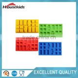 minifigure Building brick Silicone Ice Tray Candy Chocolate Mold