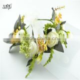 Top sale wedding hair accessories Foam blossom flower wreath 1201E                                                                                                         Supplier's Choice