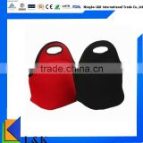 promotional neoprene wine bottle tote cooler bag for food