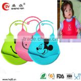 beautiful silicone baby bibs plain white