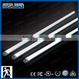intelligent lighting cUL UL approved emergency t8 led tube light parts with battery backup 120lm/w 2ft to 8ft