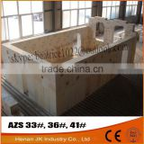 Refractory Fused Cast AZS Brick for Steel