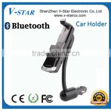 Universal bluetooth cd slot car mount holder, bluetooth handsfree and car charger 3 in 1 functions
