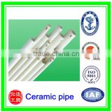 Alumina Ceramic Tube 99 al2o3 in Furnace and Gas boilers/99% tube al2o3 flanged alumina ceramic tube