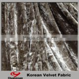 China Direct Factory Polyester Spandex Stretch Cloth Silk Velvet Fabric Price For Wholesale
