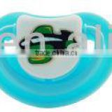 Toptan Bebek Emzik Beautiful Kids Nipple New Safety Material Funny Colorful Baby Pacifier with cover A-1081(S)