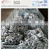 hot dip galvanized stud link anchor chain for ship