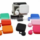 Silicone Cap for the housing of GoPro Hero3+ only, Color: Black, Blue, Green, Red, White, Pink, Rose GP132