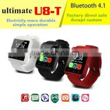 "U8 Smart watch Wrist Watch Phone Mate Bluetooth U8 For Android1.44""LED U8 Pro Bluetooth Watch Touch Screen"