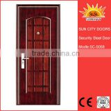 SC-S058 China's Best Quality Burglar Proof Steel Door Chinese Security Doors