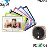 4.3 inch LCD Display 3X Digital Zoom 1.3 Mega Pixels Night Vision Digital Door Peephole Viewer Camera