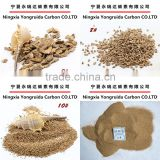INquiry about Walnut shell grit for sandblasting and polishing
