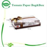 customized attractive creative fancy luxury silk scarves paper packaging box