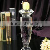 bling crystal candle holder for event decoration