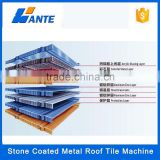 2015 Trade Assurance Al-Zn Coated steel Material and All style Type Roof Tile ,stone coated metal roof tile